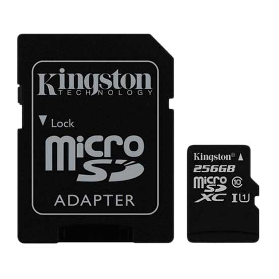 Kingston Standard Micro SD Class 10 256GB With SD Adapter