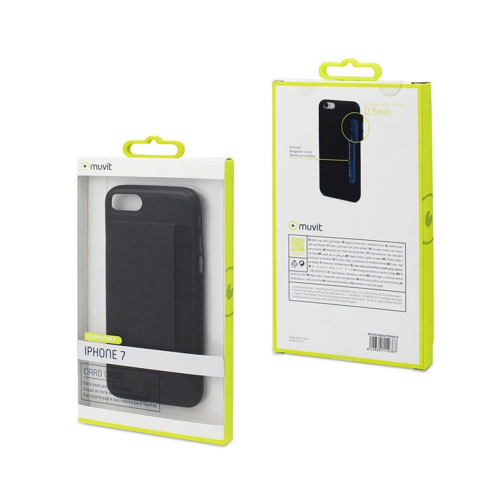 Muvit Ultra Thin Case iPhone SE/8/7 With Card Holder