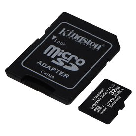 Kingston Canvas Select Plus Micro SD Class 10 32GB+SD Adapter