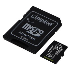 Kingston Canvas Select Plus Micro SD Class 10 512GB+SD Adapter