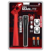 Mag-Lite Mini Led 2AA Safety Pack