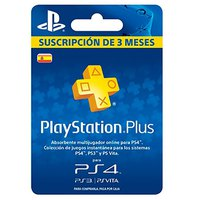 Sony PS Plus 3 Months Voucher