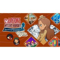 Nintendo Layton S Mystery Journey Deluxe Switch