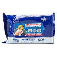 1st aid Disinfecting Wipes 50 Units