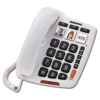 Daewoo Two Piece DTC-760 Big Keys Hands Free