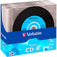 Verbatim CD-R 700MB Vinyl 52x Speed 10 Units