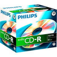 Philips CD-R Audio JC 10 Units
