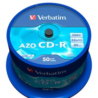 Verbatim Azo CD-R 700MB 52x Speed 50 Units