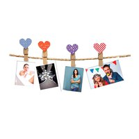 Fujifilm Instax Design Clips 10 Pack Heart
