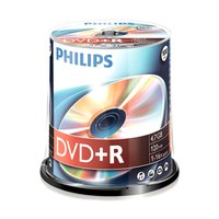 Philips DVD+R 4.7GB 16x SP 100 Units