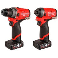 Milwaukee M12FPP2A-402X 2 Pieces Power Pack M12 Fuel