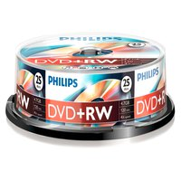 Philips DVD+RW 4.7GB 4x SP 25 Units