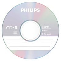 Philips CD-R 80Min 700MB 52x SP 100 Units