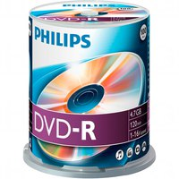 Philips 100 DVD-R 4.7GB 16x SP