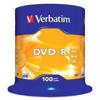 Verbatim DVD-R 4.7GB 16x Speed 100 Units