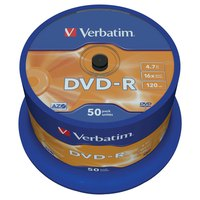 Verbatim DVD-R 4.7GB 16x Speed 50 Units