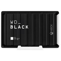 WD WD_BLACK D10 Game Drive For Xbox One WDBA5E0120HBK 12TB USB 3.2 Gen1