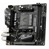 MSI Placa Base AM4 B450I Gaming Plus Max WiFi