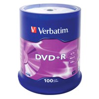 Verbatim DVD+R 4.7GB 16x 100 Units