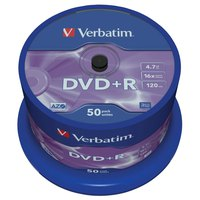 Verbatim DVD+R 4.7GB 16x 50 Units